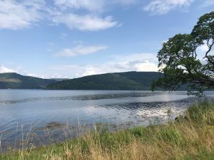 View across Loch Eck