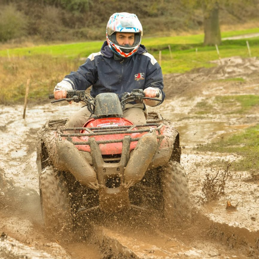 Quad biking at Adventure Sports Warwick