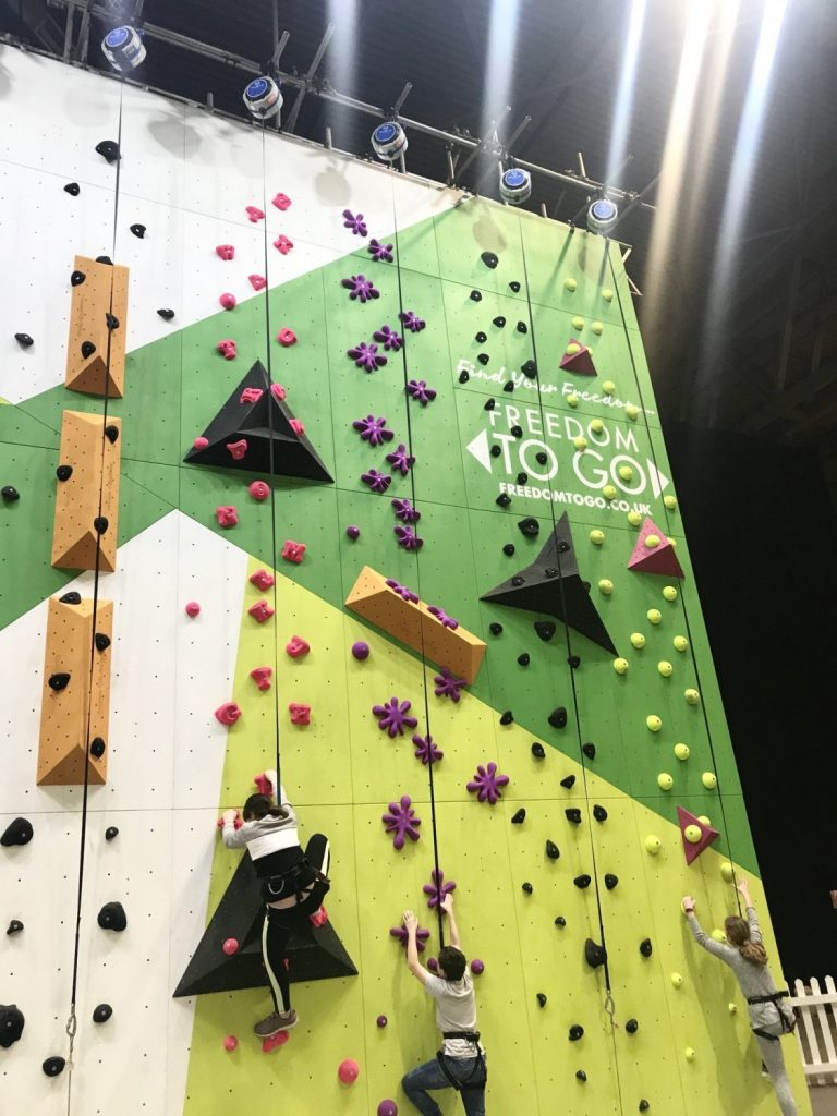 Freedom To Go Climbing Wall