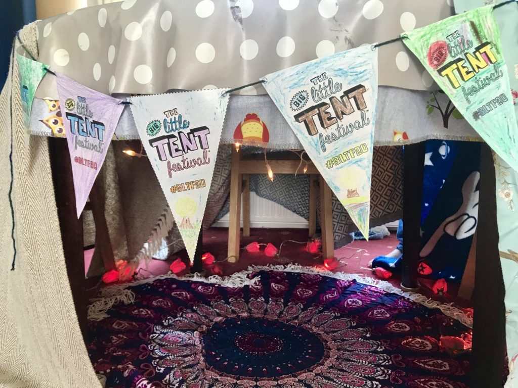 The Big Little Tent Festival indoor den