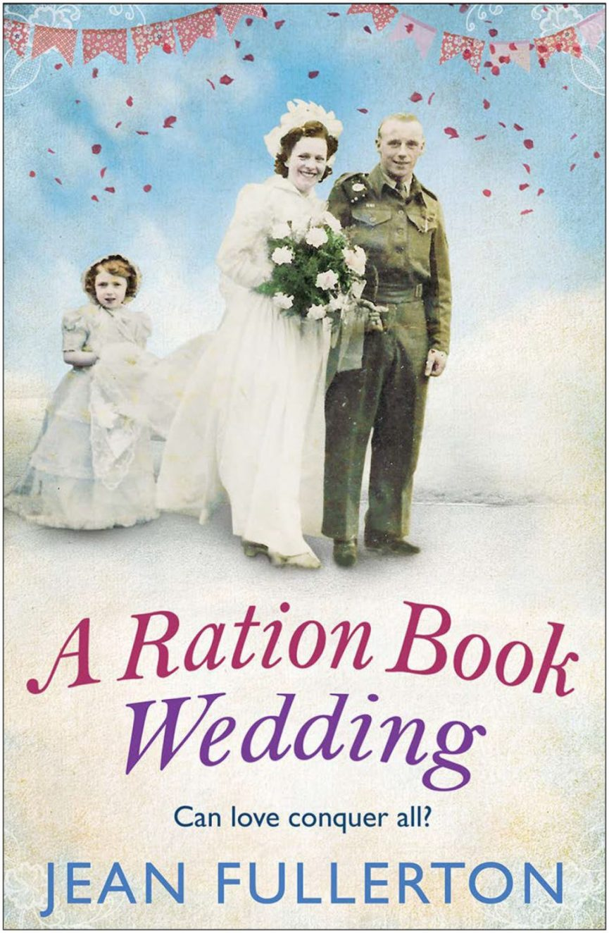 Ration Book Wedding Front Cover