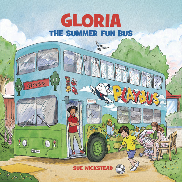 Gloria The Summer Fun Bus front cover