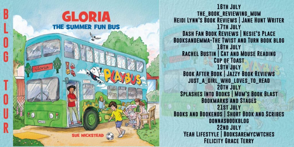 Gloria the Summer Fun Bus Full Tour Banner