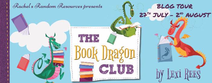 The Book Dragon Club tour banner