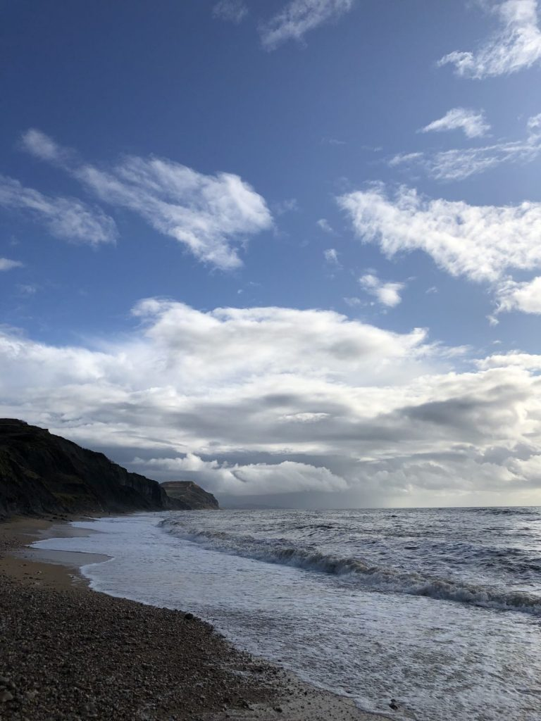 View across Charmouth