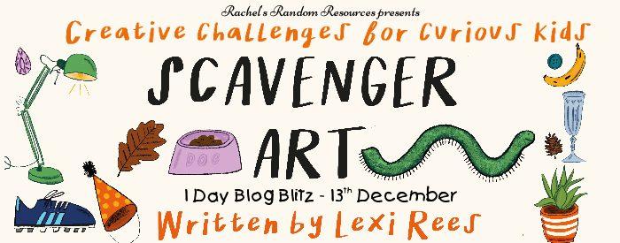 Scavenger Art blog tour banner
