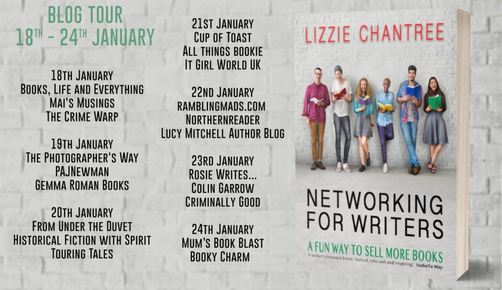 Networking For Writers Full Tour Banner