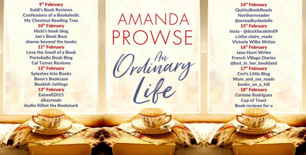 An Ordinary Life Full Tour Banner